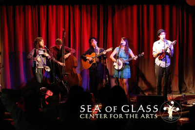 performers at the sea of glass