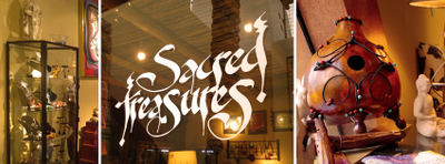 Sacred Treasures store