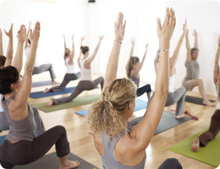 Facilitate a yoga class, this venue is for rent.